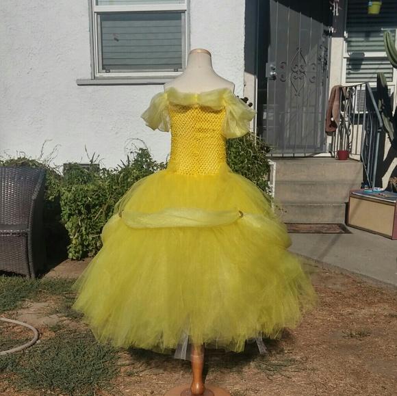 Belle tutu dress & handmade Costumes | Belle Tutu Dress | Poshmark